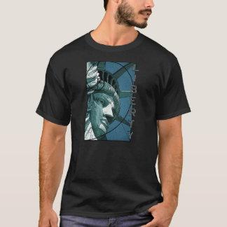 Camiseta Design da estátua da liberdade