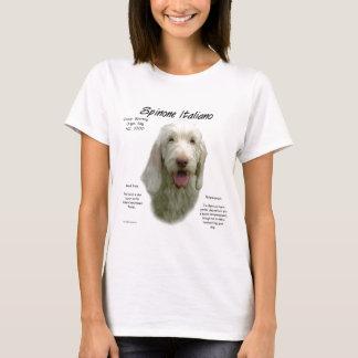 Camiseta Design da história de Spinone Italiano