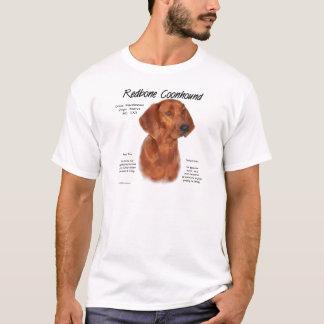 Camiseta Design da história do Coonhound de Redbone