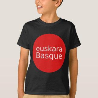 Camiseta Design da língua Basque