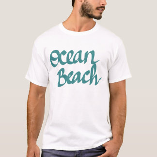 Camiseta Design da praia do oceano