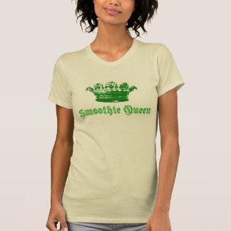 Camiseta Design da rainha do Smoothie da coroa