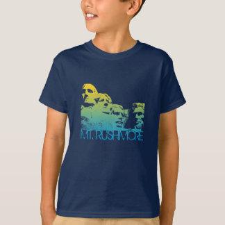 Camiseta Design da skyline do Monte Rushmore