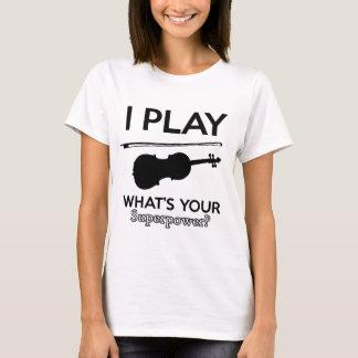 Camiseta design da viola