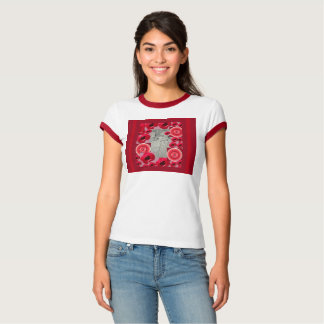 Camiseta Design de Corazon do desenho por Beth Vallory