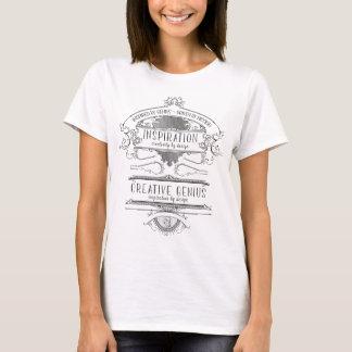 Camiseta Design de inspiração