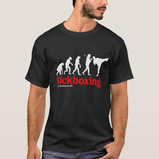 Camiseta Design de Kickboxing no preto