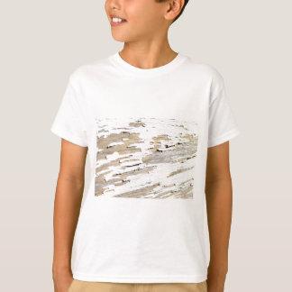 Camiseta Design de madeira rústico do vintage