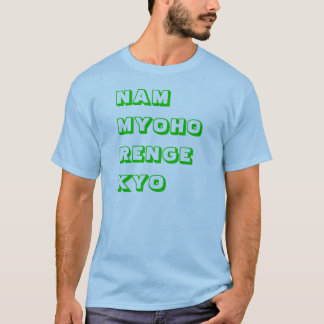 Camiseta Design de Nam Myoho Renge Kyo