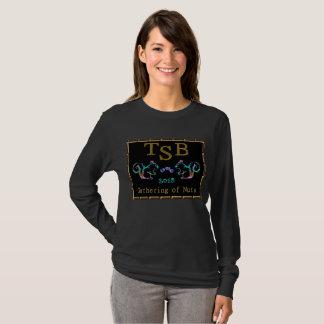 Camiseta Design de néon de TSB Gathering2018 do ouro