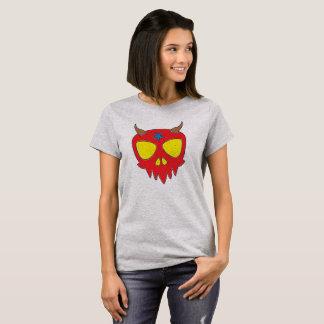 Camiseta Design diabólico do crânio