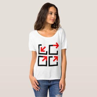Camiseta Design dinâmico