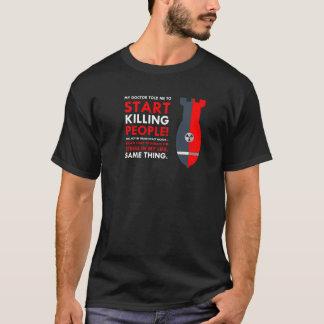 Camiseta Design do assassino