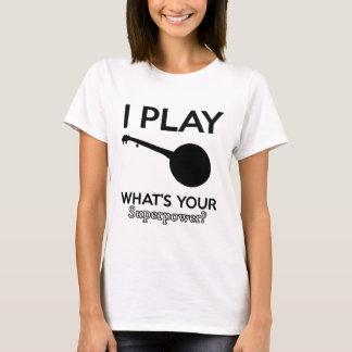 Camiseta design do banjo