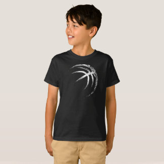 Camiseta Design do basquetebol do estilo do Grunge