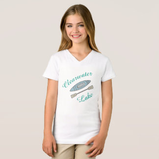 "Camiseta ""Design do caiaque do lago Clearwater"" para"