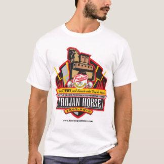 Camiseta Design do campeonato do Trojan Horse