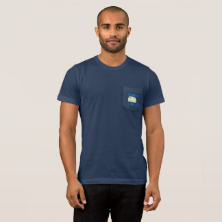 Camiseta Design do campista do estilo de vida de