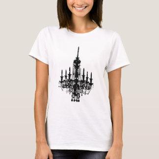Camiseta design do candelabro do vintage