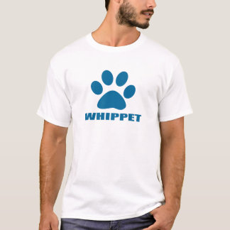 CAMISETA DESIGN DO CÃO DE WHIPPET