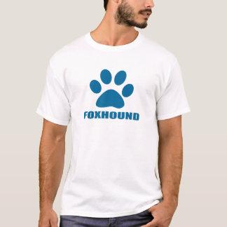 CAMISETA DESIGN DO CÃO DO FOXHOUND