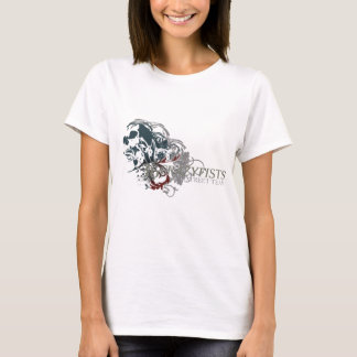 Camiseta Design do crânio de Louisa