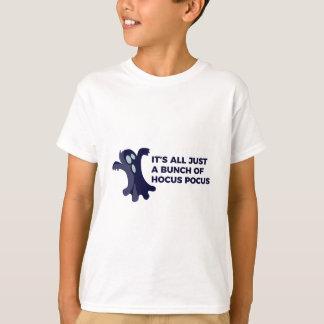 Camiseta Design do Dia das Bruxas da vaia do fantasma de