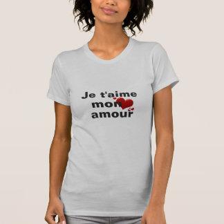 Camiseta Design do dia dos namorados do t-shirt do caso