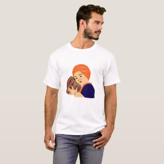 Camiseta design do estilo do singh