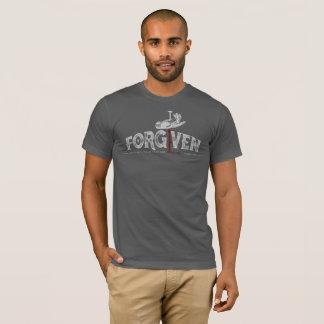 Camiseta Design do estilo do vintage - PERDOADO