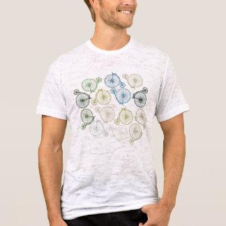 Camiseta Design do Farthing da moeda de um centavo