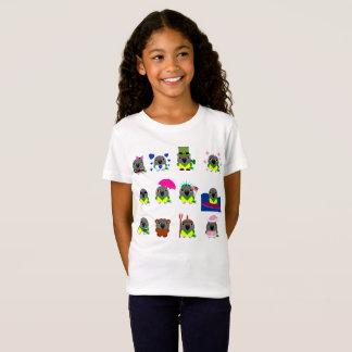 Camiseta design do feriado do papagaio de Senegal do