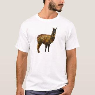 Camiseta Design do geo do lama