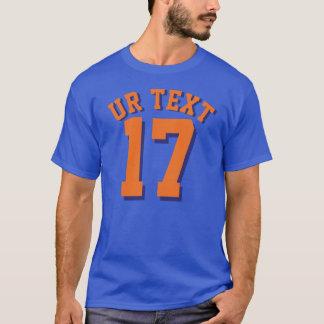 Camiseta Design do jérsei dos esportes dos adultos | dos