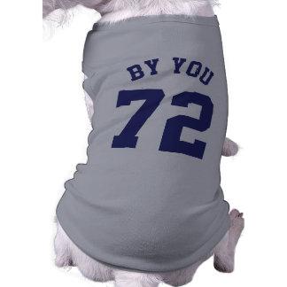 Camiseta Design do jérsei dos esportes dos animais de