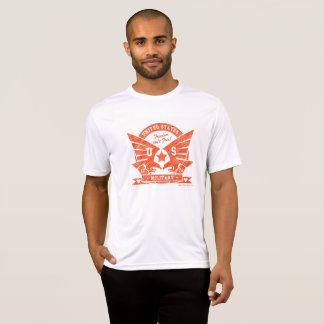 Camiseta Design do lápis dos E.U. MILITARY_red