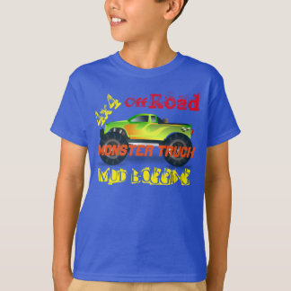 Camiseta Design do monster truck