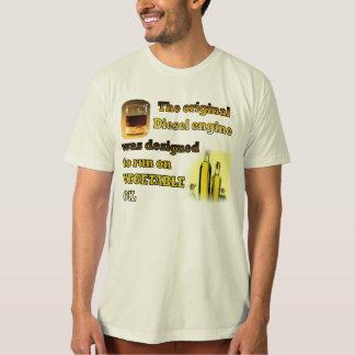 Camiseta Design do motor diesel