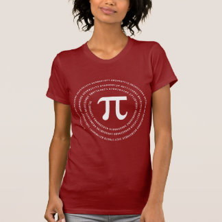 Camiseta Design do número do Pi