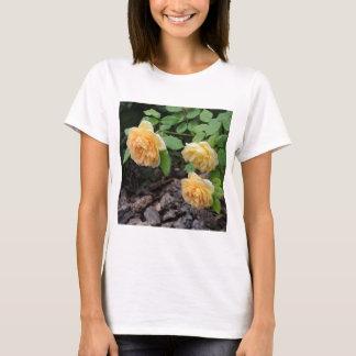 Camiseta Design do rosa do híbrido por Nisatirut
