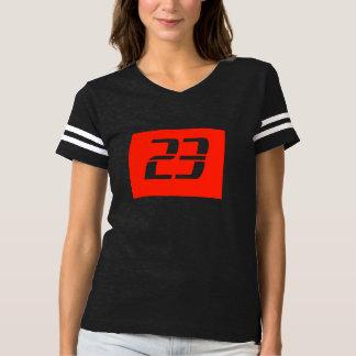 Camiseta design do t-shirt da forma das mulheres do número
