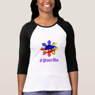 Camiseta Design do t-shirt do orgulho de Pinoy
