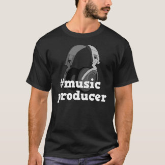 Camiseta Design do t-shirt dos homens do produtor B&W da
