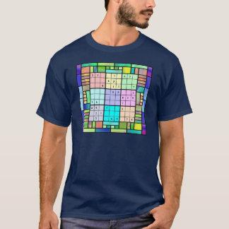 Camiseta Design do vitral de Sudoku