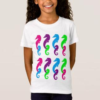 Camiseta Design dos cavalos de mar