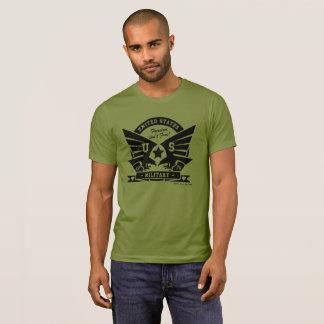 Camiseta Design dos E.U. MILITARY_black