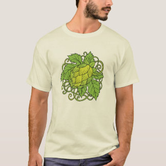 Camiseta Design dos saltos (o T do amante da cerveja do