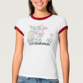 Camiseta Design engraçado de Im Mathslexic