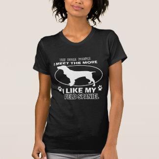 Camiseta Design engraçado do spaniel de campo