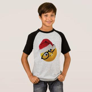Camiseta design engraçado do t-shirt do Natal do papai noel